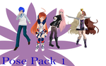 MMD Pose Pack 1