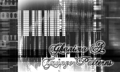 Grungy Patterns by Ghanima-Atreides