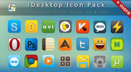 iDesktop Icon Pack by IzzIsHOr