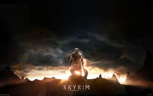 Skyrim - Sunset Wallpaper HD by MuuseDesign