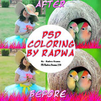 PSD Coloring By Radwa #1 by RaaDWaa