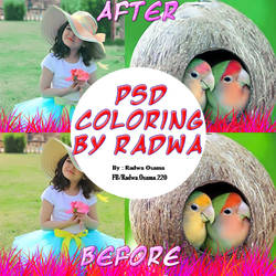 PSD Coloring By Radwa #1