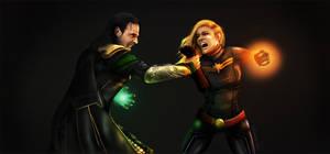 Loki vs Ms. Marvel