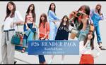 Kim So Hyun RENDER PACK #26 by Pai