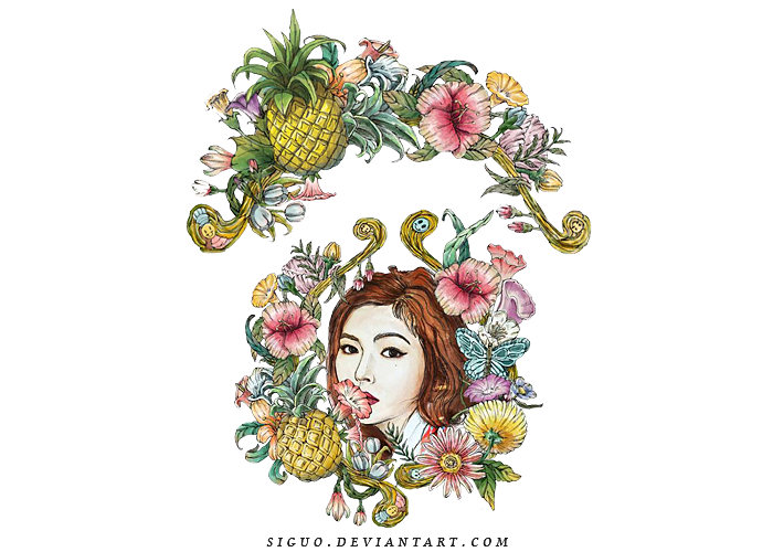 HyunA[A'wesome] PNG  by Pai