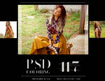 PSD Coloring #117 by Bai