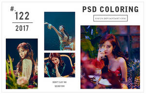 PSD Coloring #122 by Bai by Siguo
