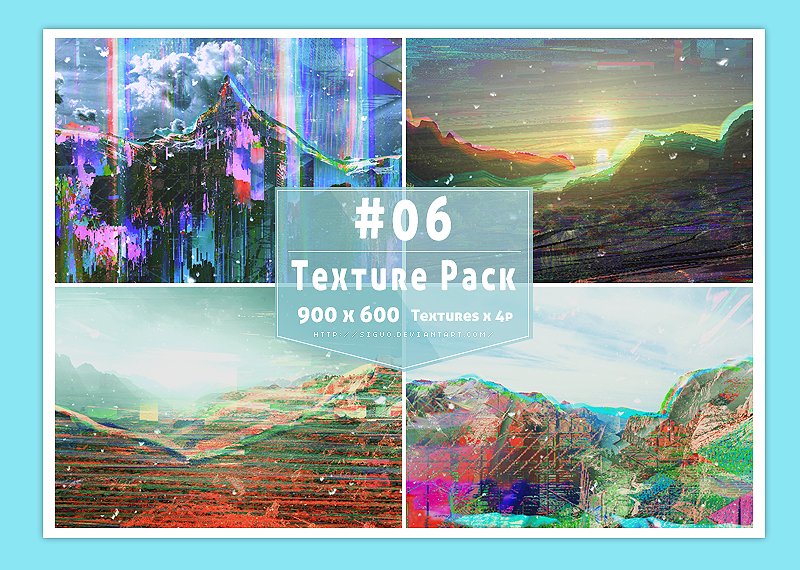 #06 Texture Pack by Bai by Siguo