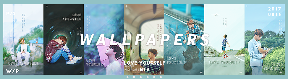 BTS [Love yourself] wallpapers by Bai by Siguo on DeviantArt