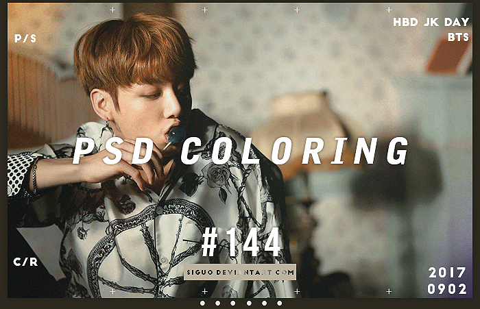PSD Coloring #144+Texture 4P by Bai by Siguo