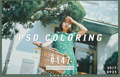 PSD Coloring #147 by Bai