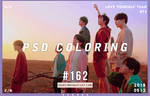PSD Coloring #162 by Bai