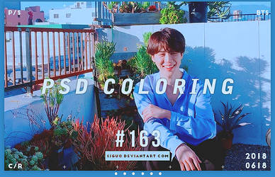 PSD Coloring #163 by Bai by Siguo
