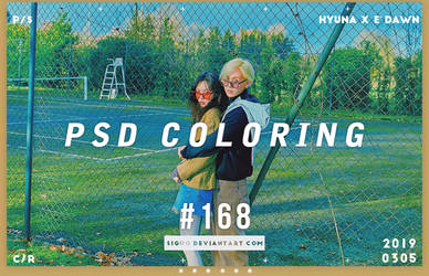 PSD Coloring #168 by Bai by Siguo