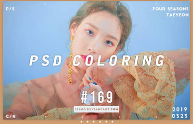 PSD Coloring #169 by Bai by Siguo