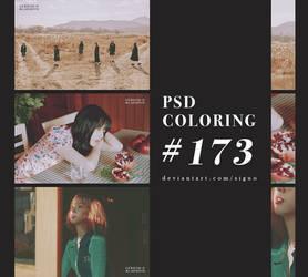 PSD Coloring #173 by Bai