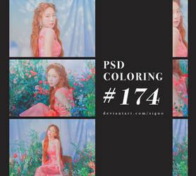 PSD Coloring #174 by Bai