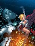 Powergirl Colors