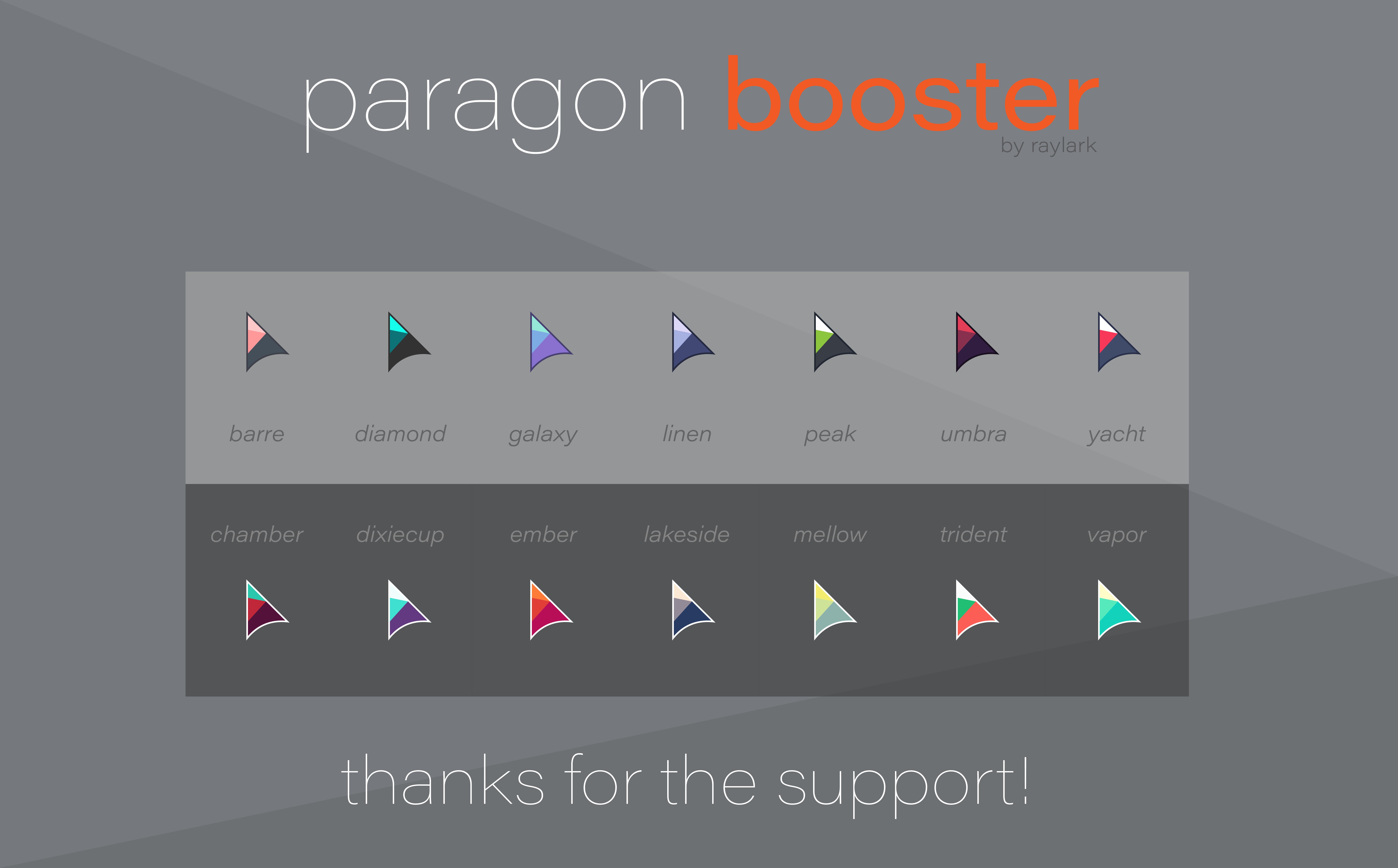 Paragon Booster - Cursors