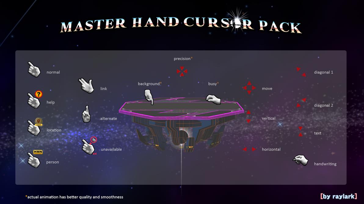MasterHand - Cursors