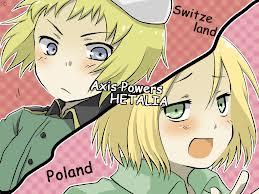 Tangled Love (Poland x Reader x Switzerland) by MercyTheFox