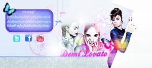 Demi Lovato Portada PSD (layout)