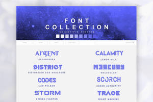 Font Pack 03 | Science Fiction by SugarRush19