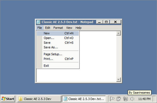 Classic AE 2.5.3 Dev