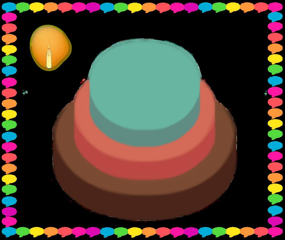 Basicday Cake by Shadowflashdabearded