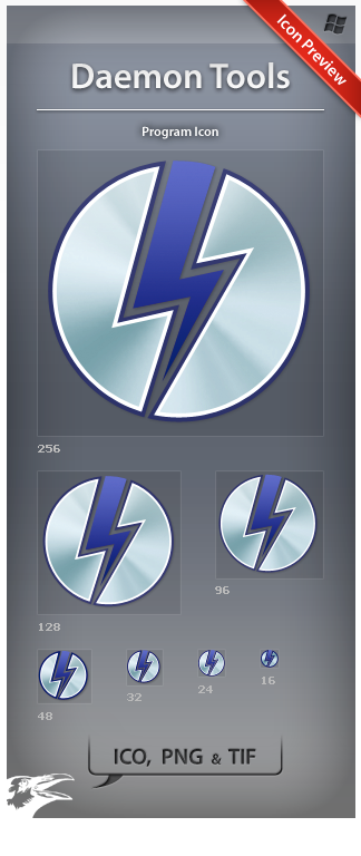 Icon Daemon Tools by ncrow