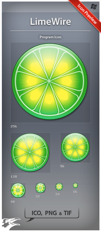 Icon LimeWire by ncrow