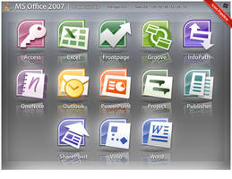 MS Office 2007 Icons Pack by ncrow