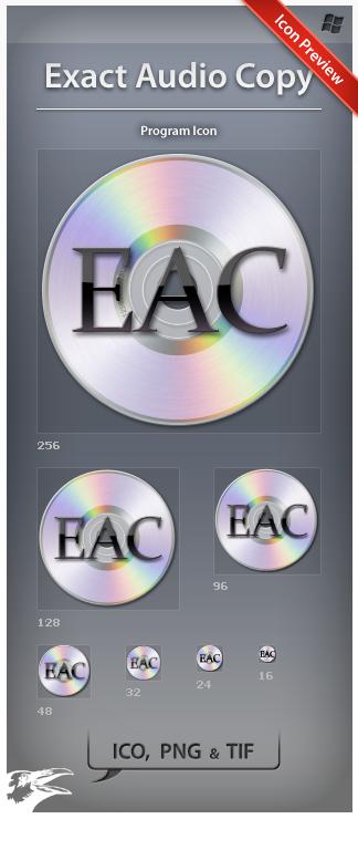 Icon Exact Audio Copy by ncrow