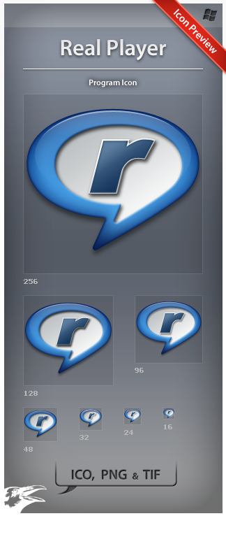 Icon Real Player by ncrow