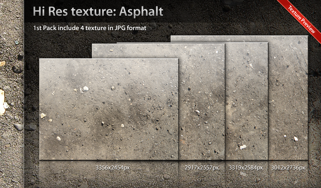 Texture Asphalt Pack