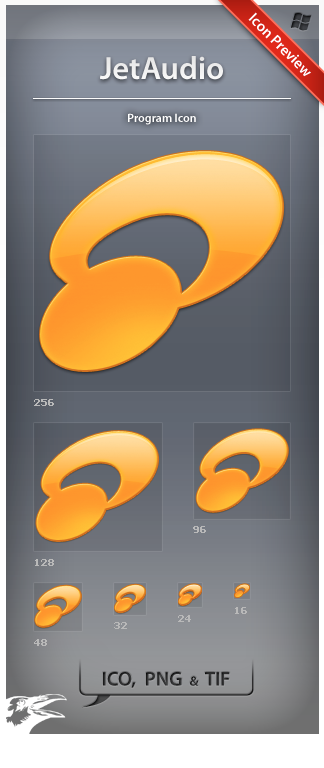 Icon JetAudio by ncrow