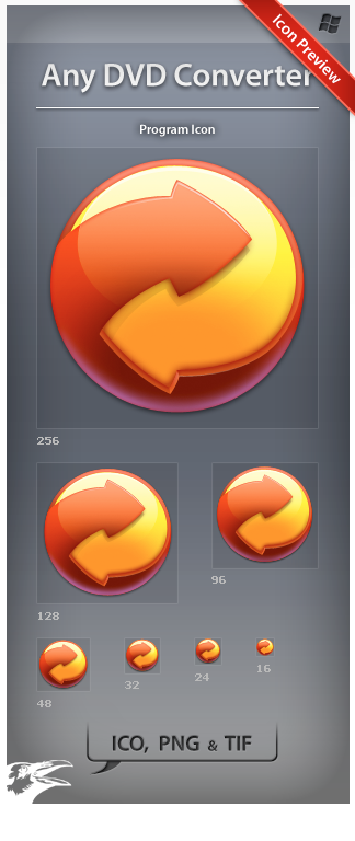 Icon Any DVD Converter by ncrow