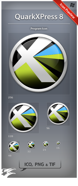 Icon QuarkXPress 8 by ncrow