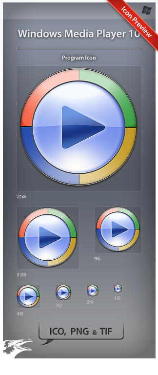 Icon Windows Media Player 10 by ncrow