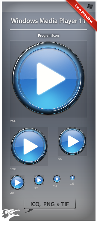 Icon Windows Media Player 11 by ncrow