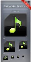 Icon AoA Audio Extractor