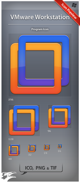 Icon VMware Workstation by ncrow