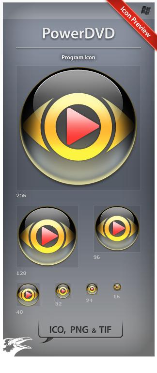 Icon PowerDVD by ncrow