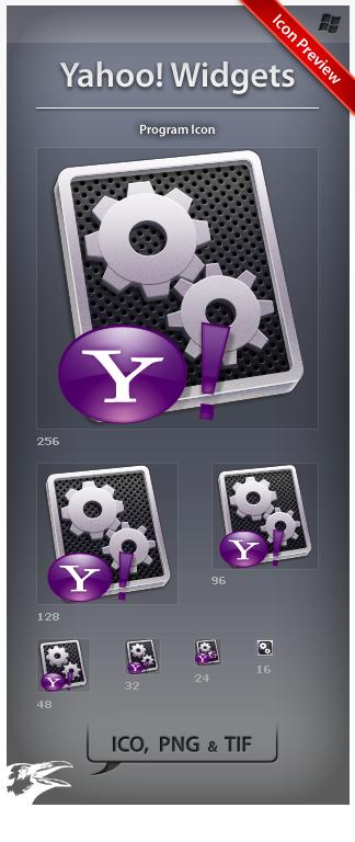 Icon Yahoo Widgets