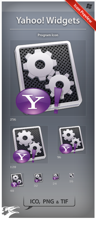 Icon Yahoo Widgets by ncrow