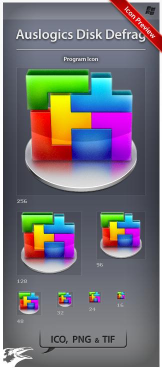 Icon Auslogics Disk Defrag