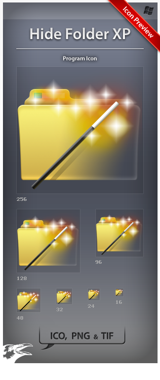 Icon Hide Folder XP