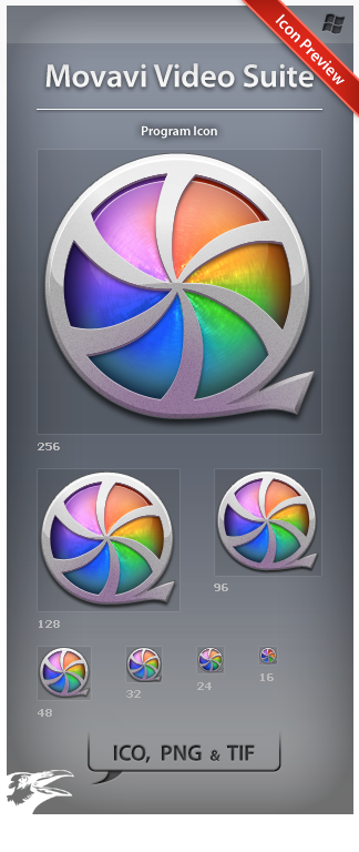 Icon Movavi Video Suite by ncrow