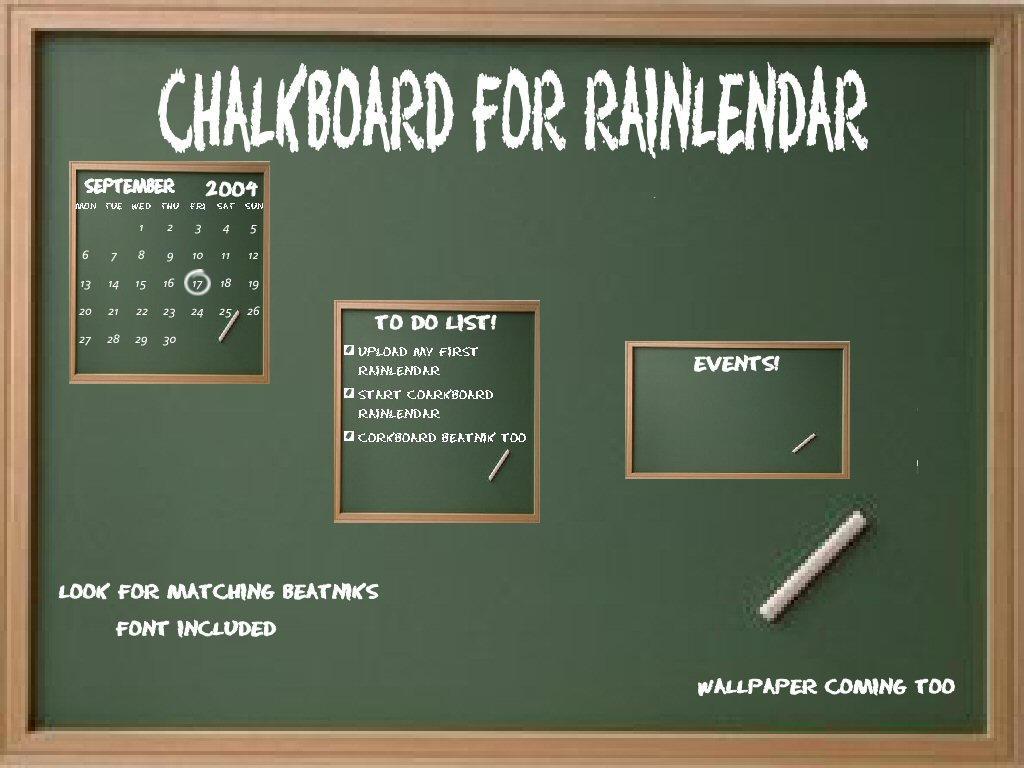 Chalkboard for Rainy by TNBrat