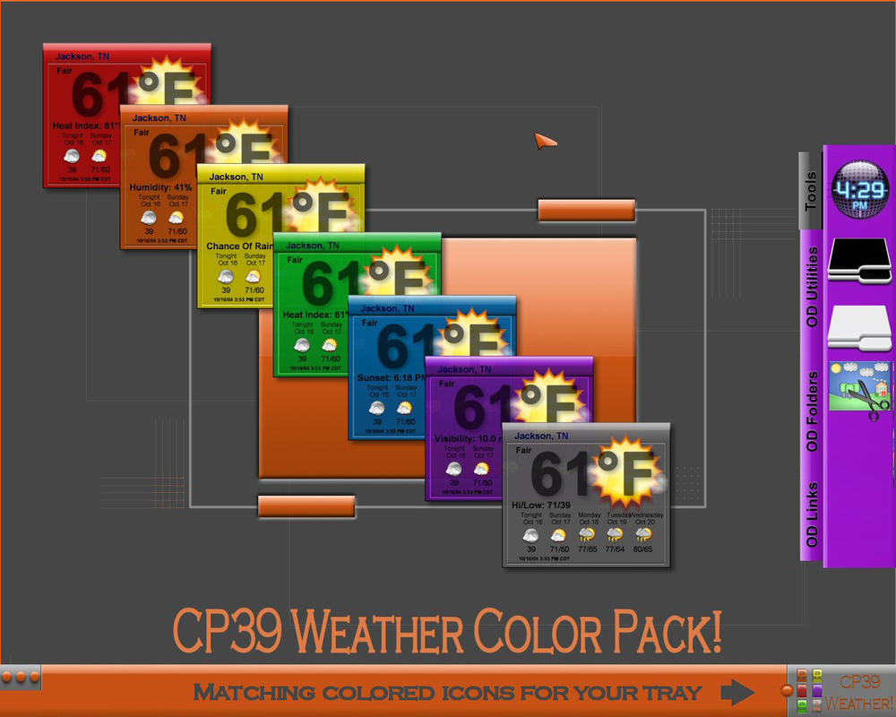 CP39 Weather Widget Colors by TNBrat